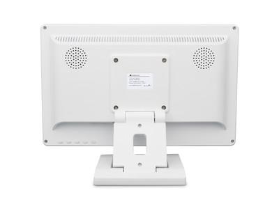 13 Zoll Monitor (Weiß) - Rückseite