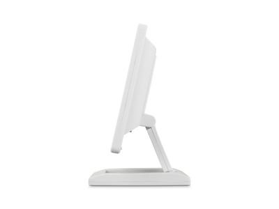 12 Zoll Monitor (Weiß) - Seitliche Ansicht