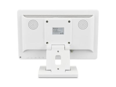 12 Zoll Monitor (Weiß) - Rückseite